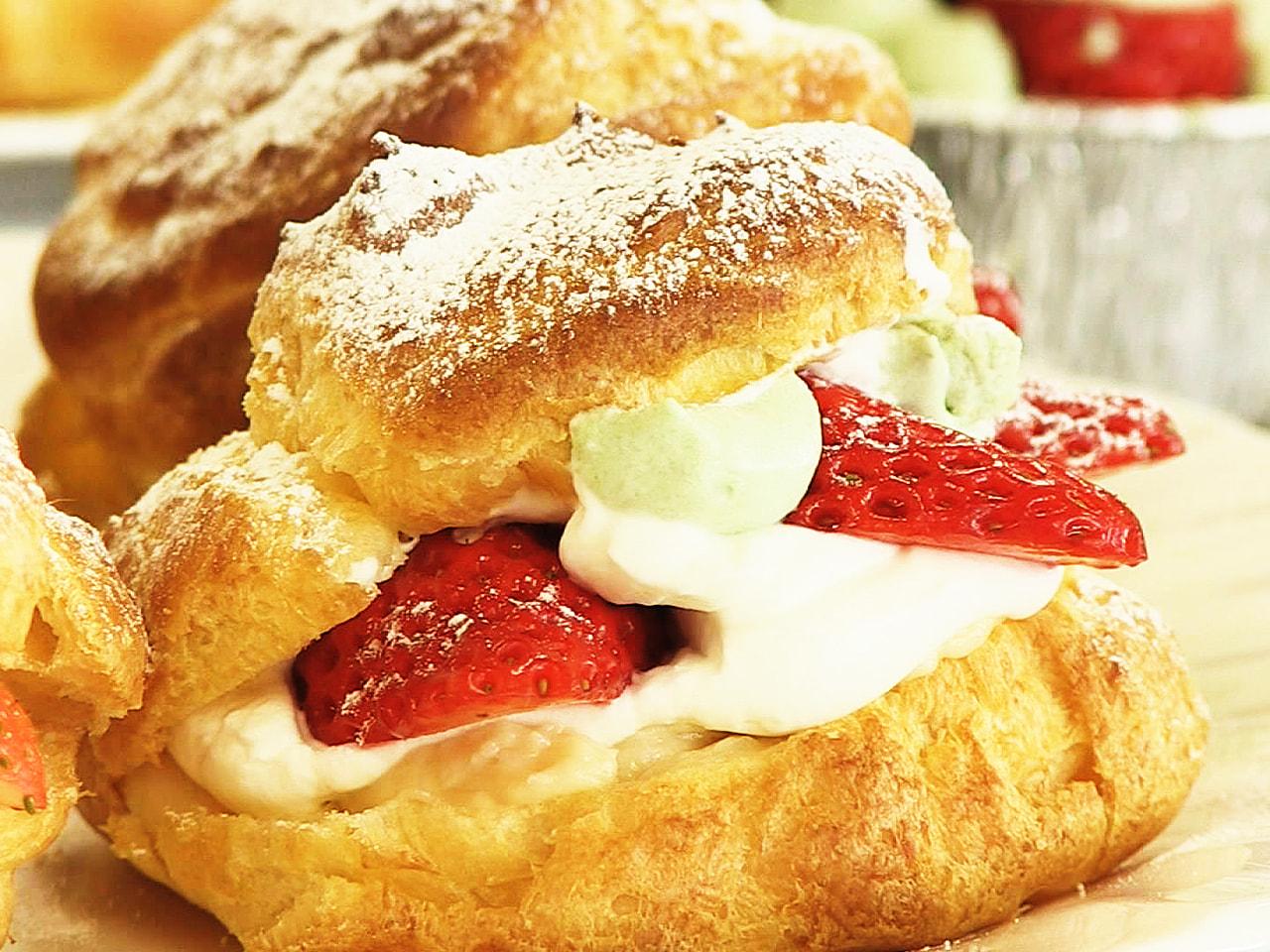飛騨産のイチゴや地元の牛乳をふんだんに使ってつくるスイーツ講座が、岐阜県高山市で...