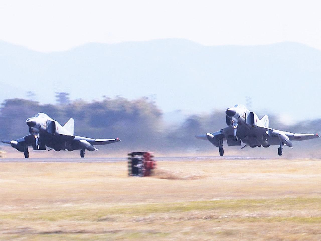 およそ半世紀前に日本で最初に導入され、岐阜基地で運用されていた航空自衛隊の戦闘機...