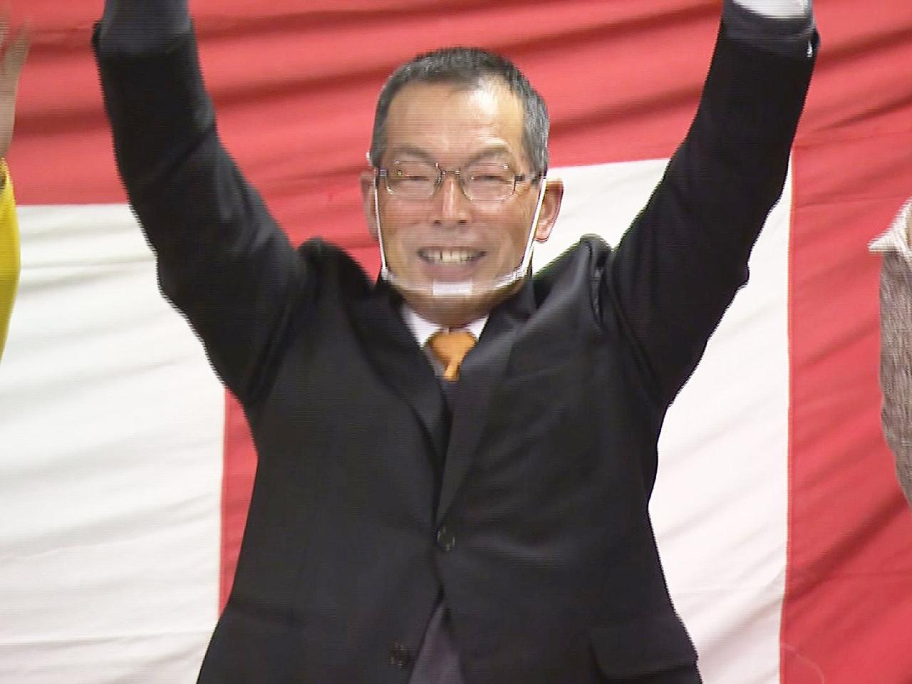 任期満了に伴う岐阜県加茂郡七宗町の町長選挙が21日に行われ、無所属の新人、加納福...