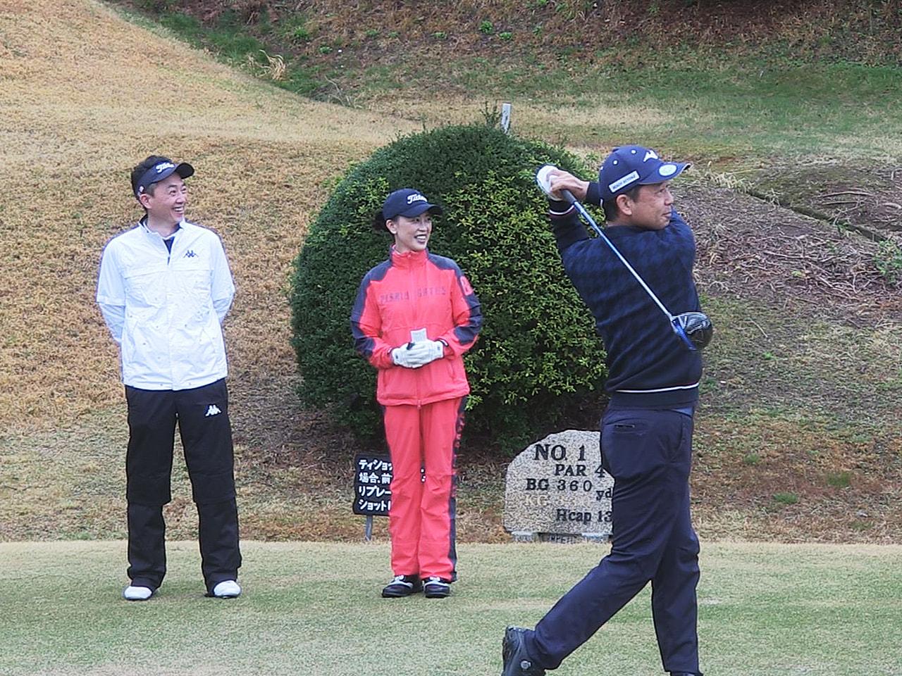 4月に開催されるゴルフの「岐阜オープンクラシック2021」を前に、会場となる各務...