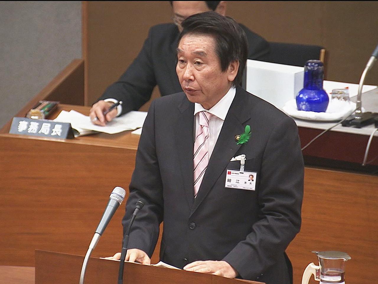 4期16年にわたって岐阜市長を務め、2020年4月に71歳で亡くなった細江茂光さ...