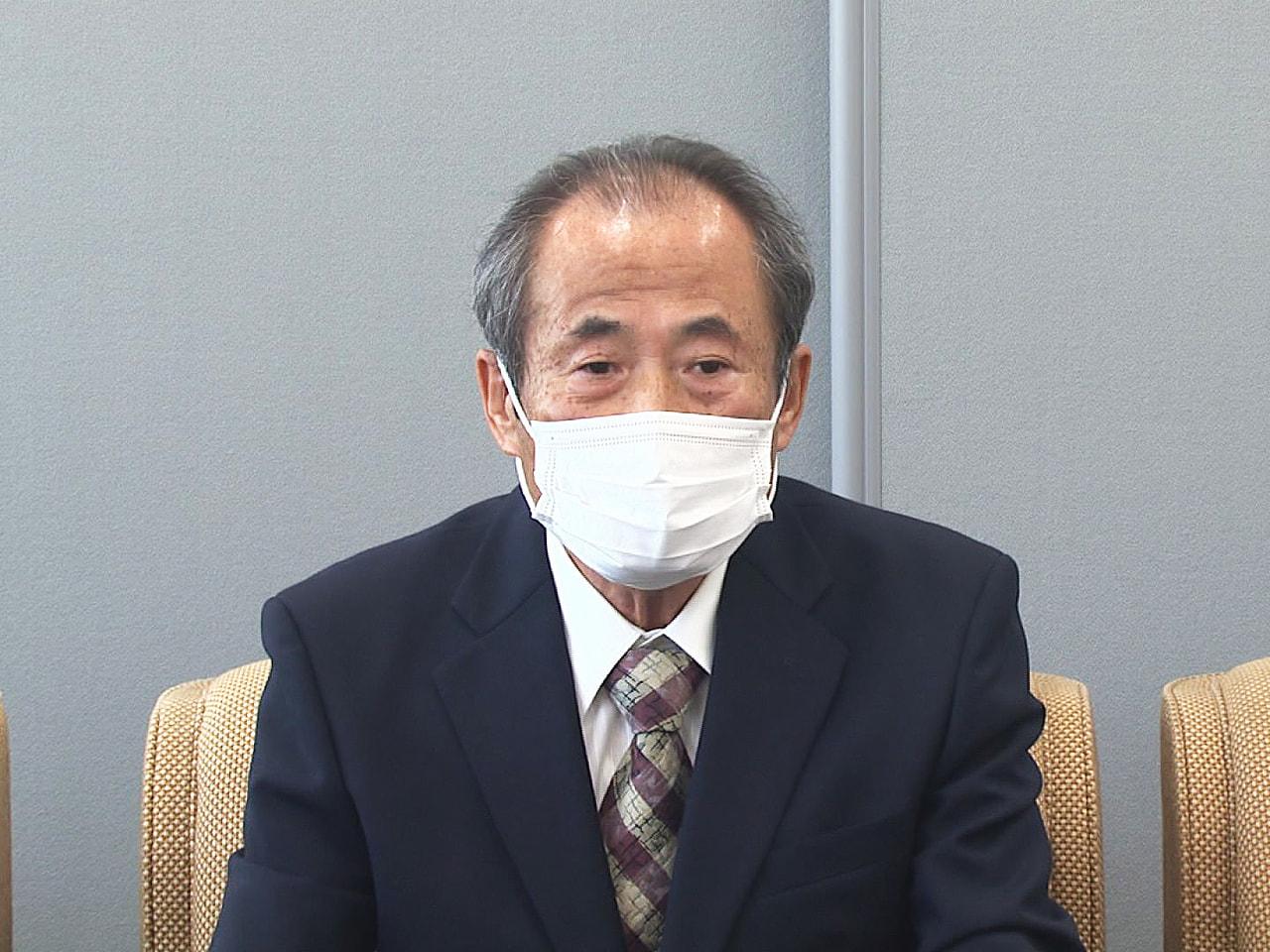 任期満了に伴い、4月行われる大垣市長選挙に、新人で元市議会議員の富田清治さん(7...