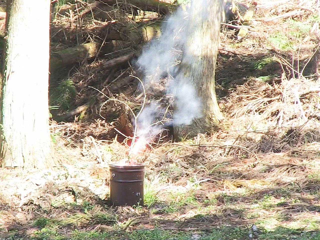 空気が乾燥して火災が起きやすいシーズンに合わせて、飛騨市消防本部と消防団は林野火...
