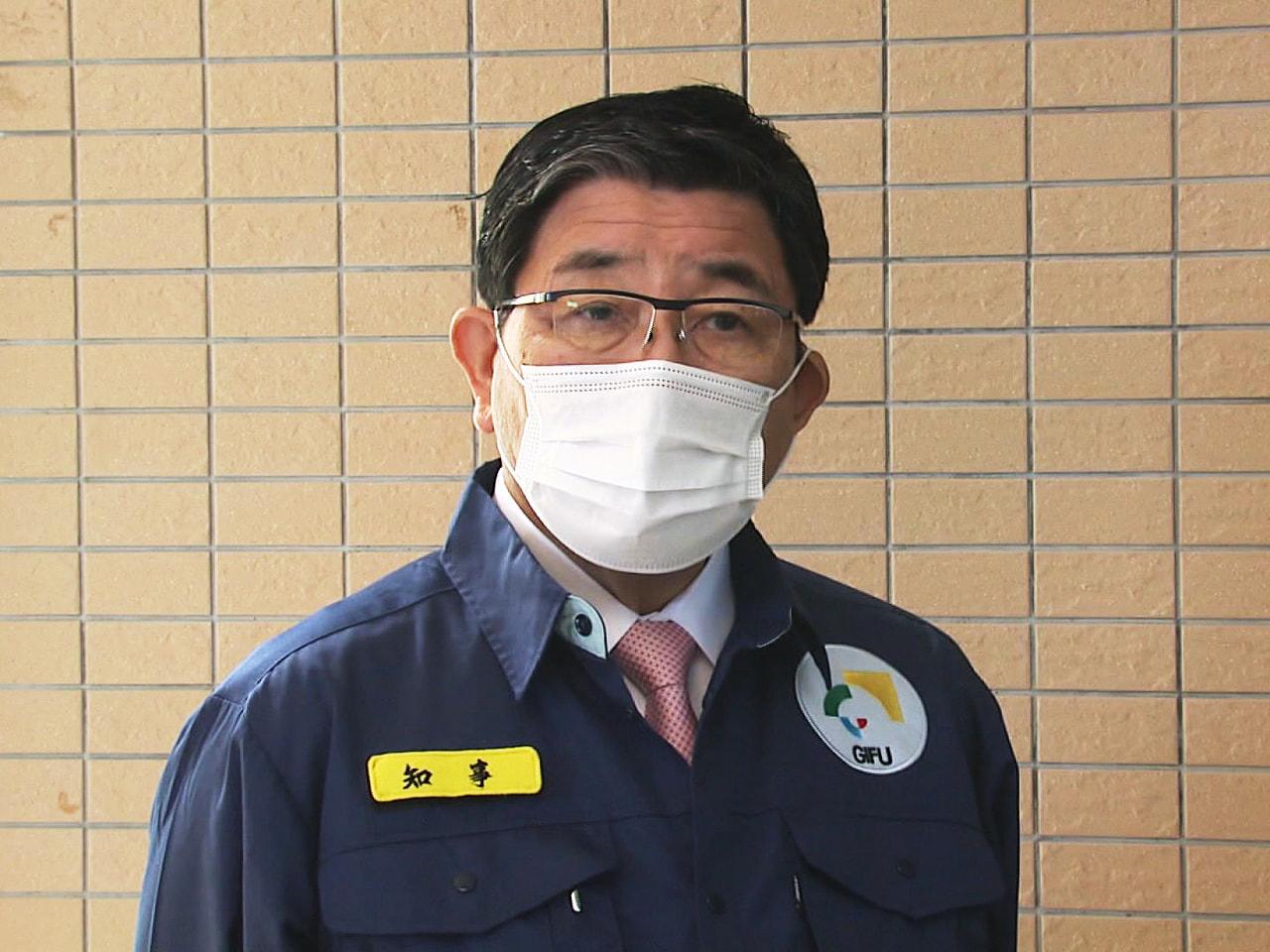 新型コロナウイルス対策で独自の非常事態宣言に伴い、岐阜県が県内16の市と町の飲食...