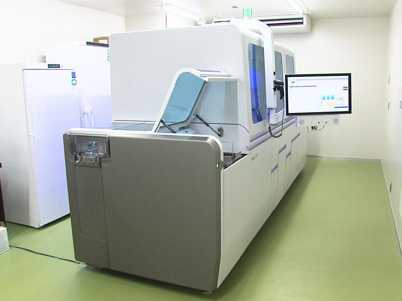 新型コロナウイルスの検査体制の充実を図るため6日、岐阜県は全国の都道府県では初め...