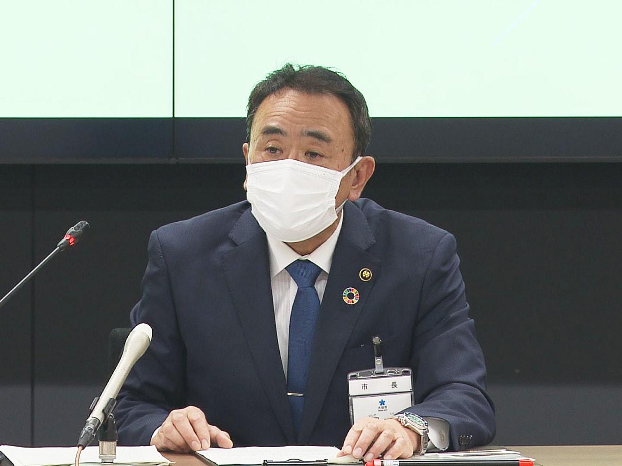 岐阜県大垣市の石田仁市長は20日、就任1カ月の会見を開き、子育て日本一の市政を継...