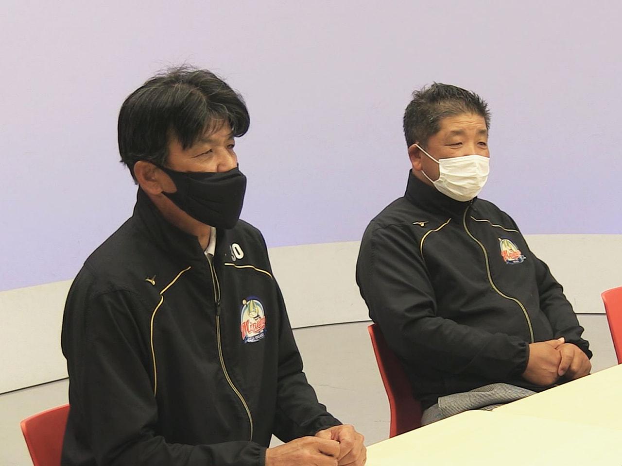 ソフトボール日本リーグ女子1部で、前半戦を8位タイで折り返した大垣ミナモソフトボ...