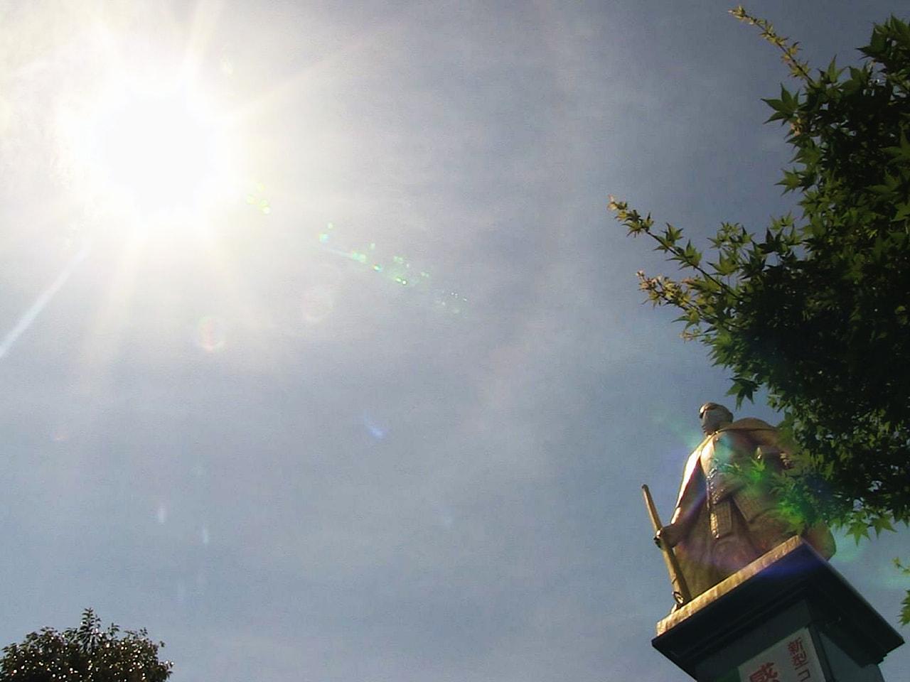 7日の岐阜県はよく晴れて午前中から各地で気温が上がり、揖斐郡揖斐川町で全国1位の...