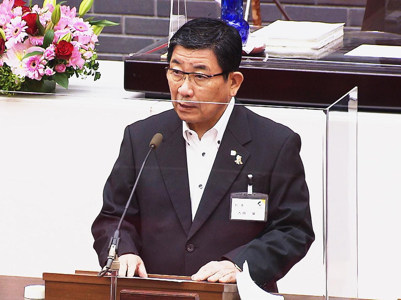 岐阜県議会の定例会が22日開会し、新型コロナ対策関連で168億円の2021年度一...