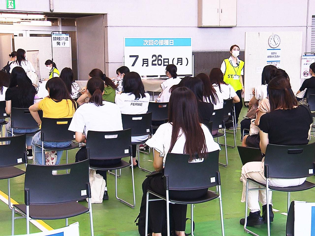 岐阜県で28日、医療機関などでの実習を控えた医療系の学生を対象にした新型コロナウ...