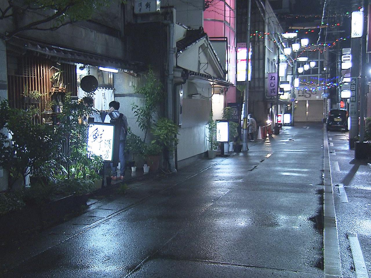 新型コロナウイルス感染防止対策で、岐阜市など6市で継続されていた飲食店への時短営...