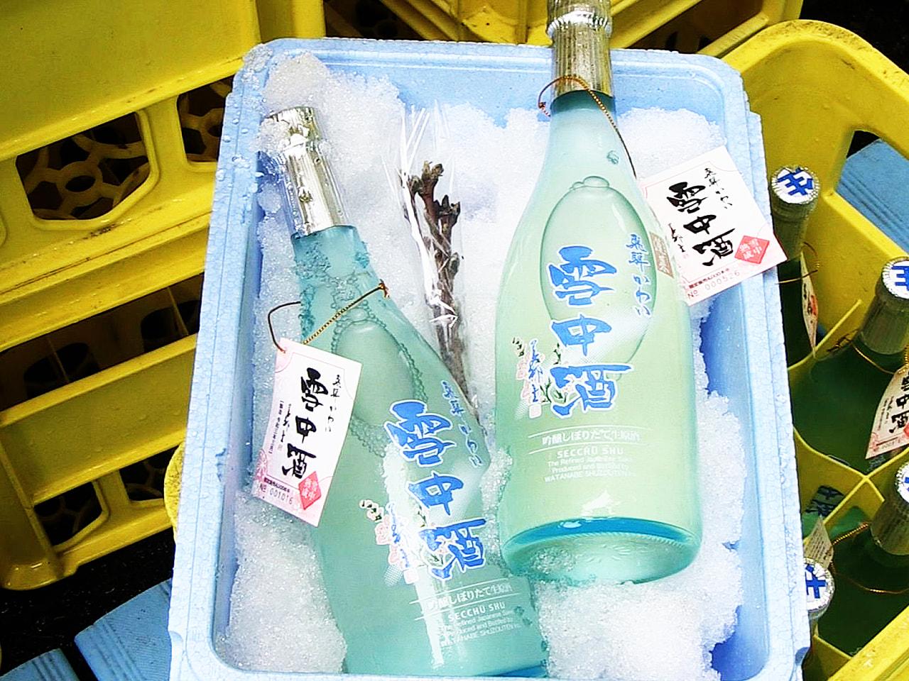 雪の中で熟成させた「雪中酒」の出荷作業が、岐阜県飛騨市で始まりました。 雪中酒は...
