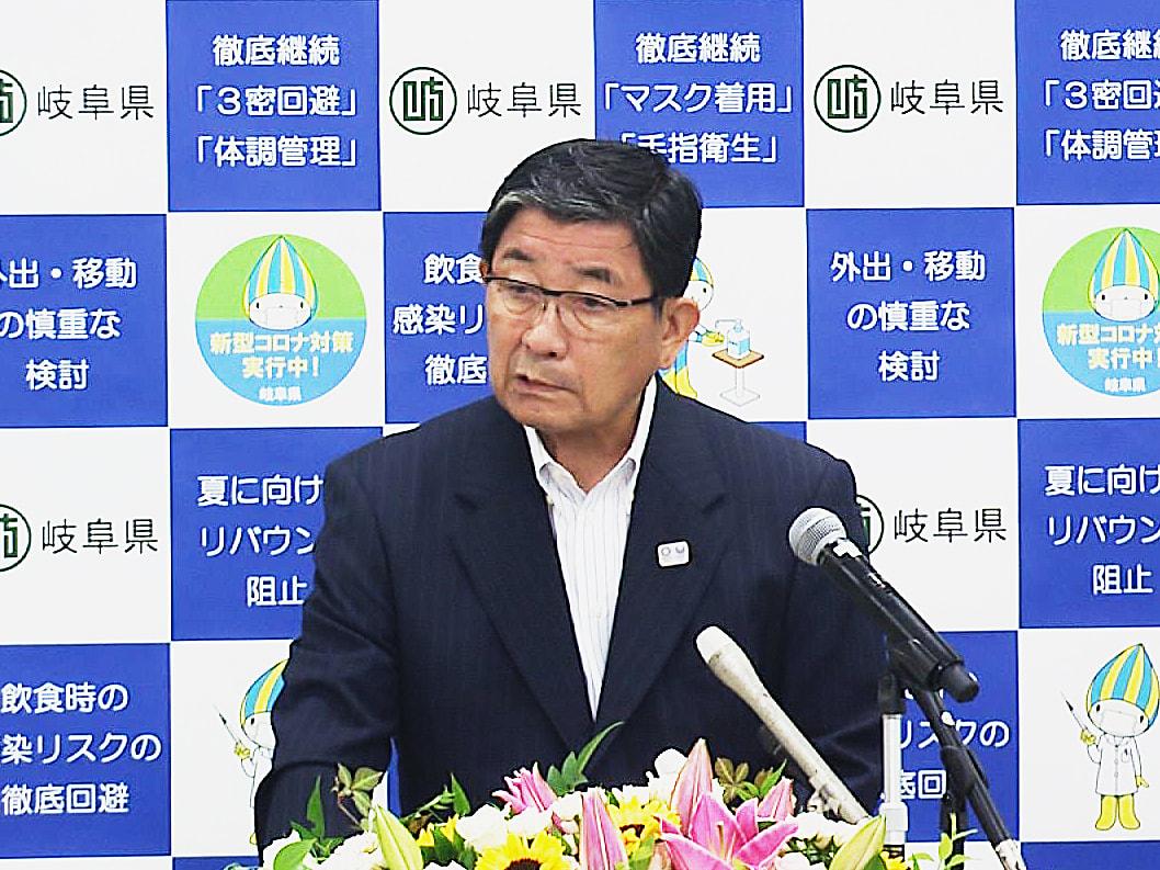 馬券の不正購入問題でレースの自粛が続く笠松競馬について、古田肇知事は13日、遅く...