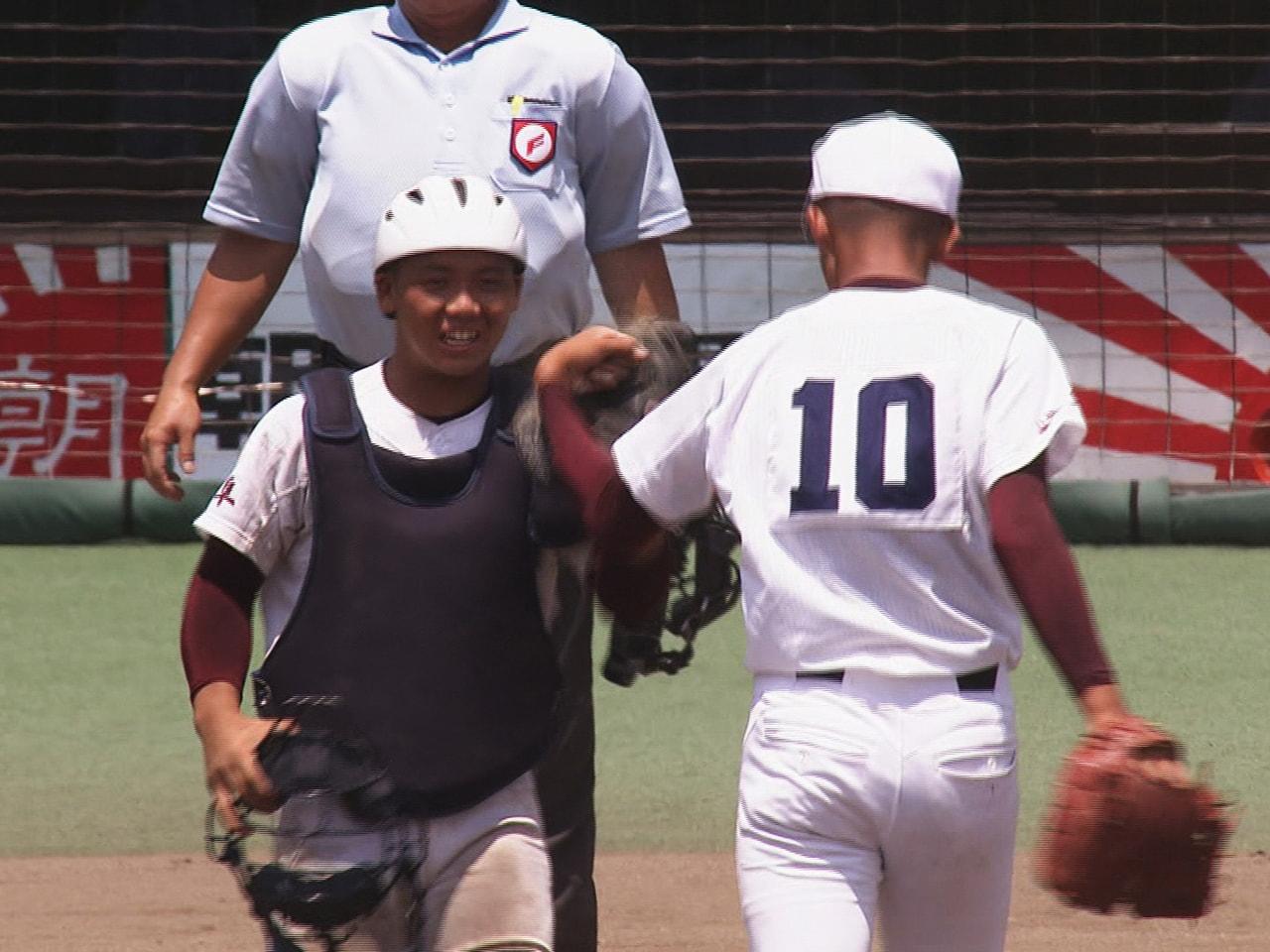 夏の高校野球岐阜大会は23日、4回戦が行われ、ベスト8が出そろいました。 海津明...
