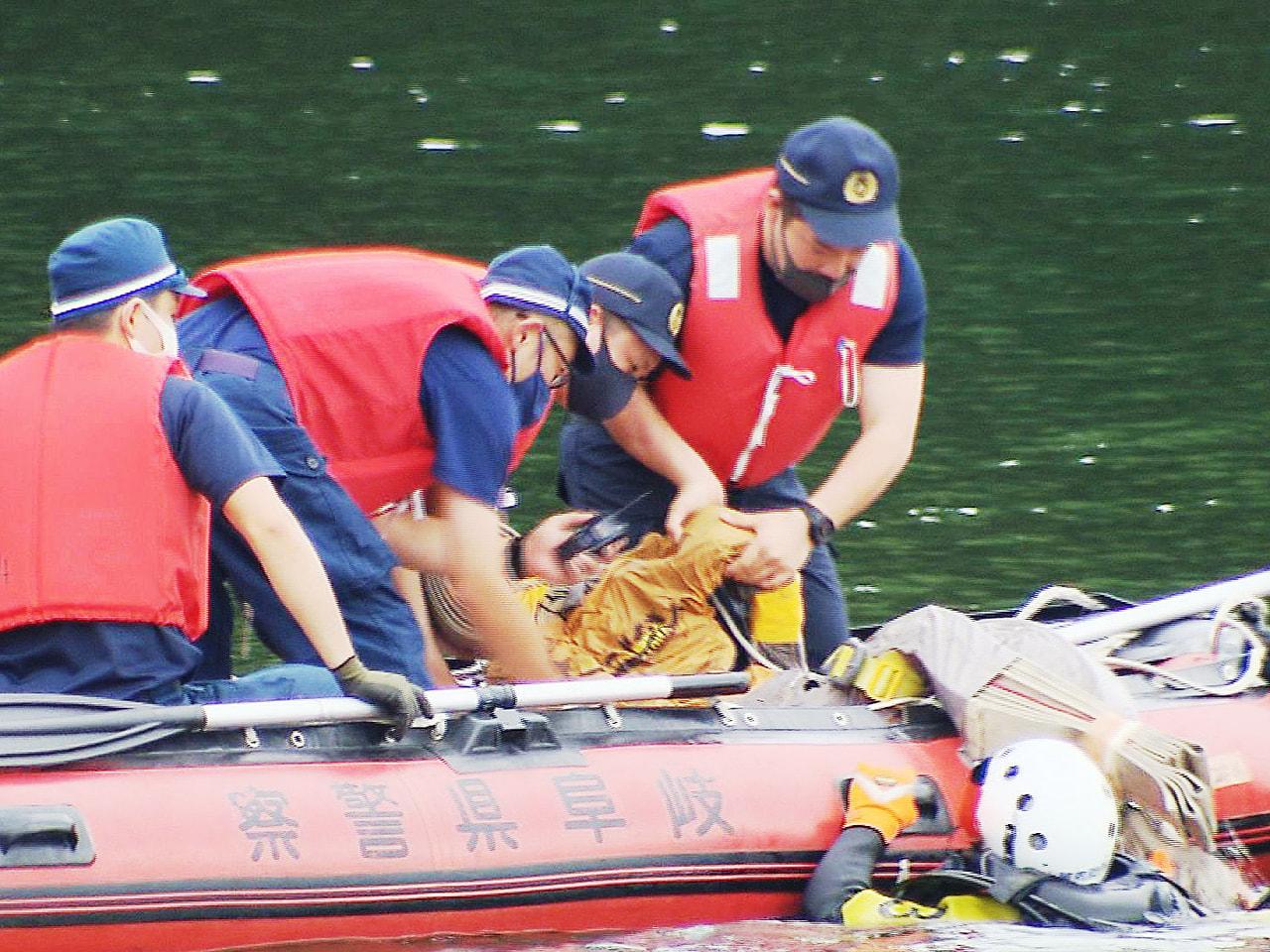 水難事故が多発する夏休みに入り岐阜北警察署は27日、岐阜北消防署と合同で水難救助...