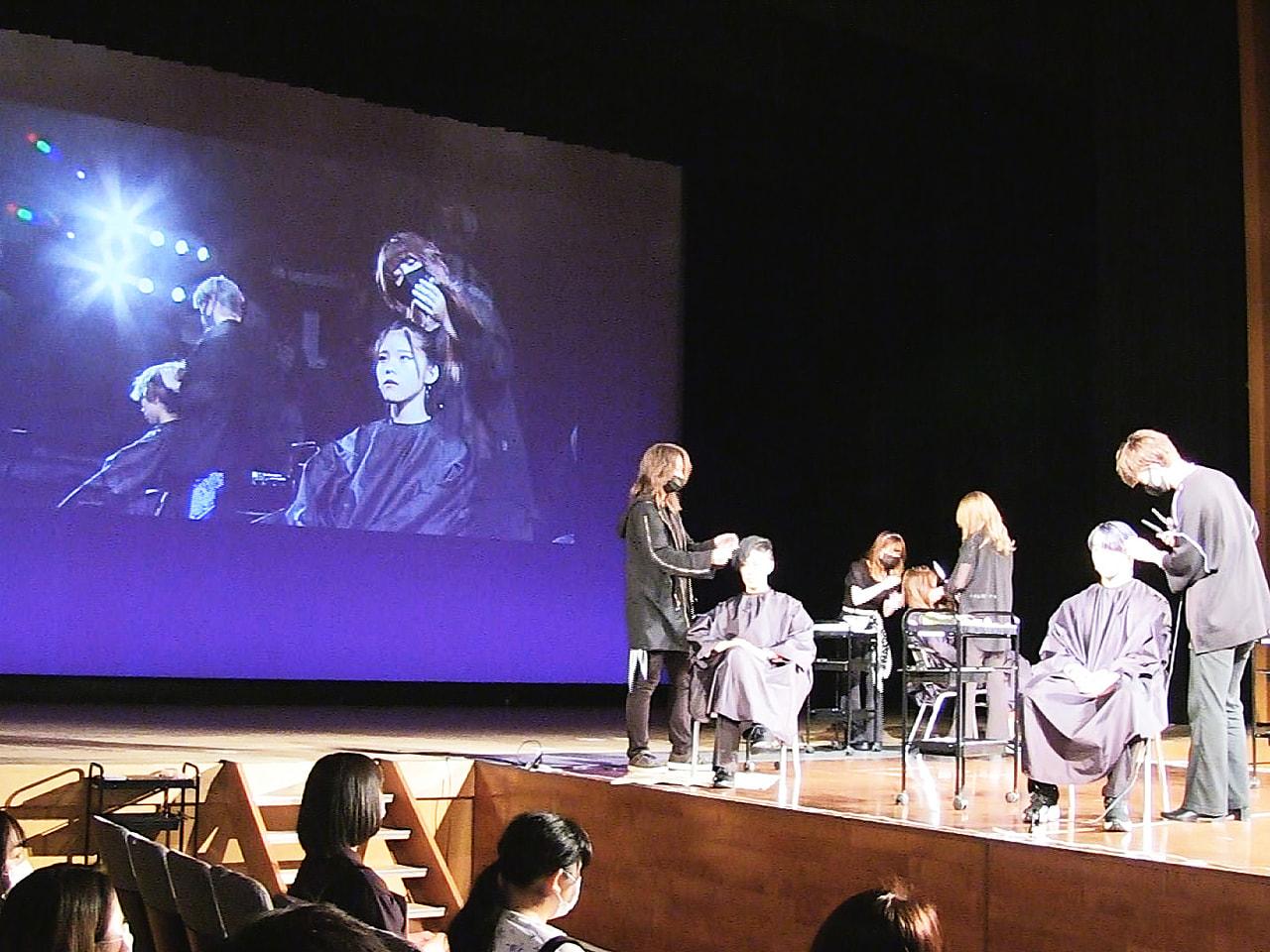 岐阜市の総合美容専門学校ベルフォートアカデミーオブビューティの学園祭が2年ぶりに...