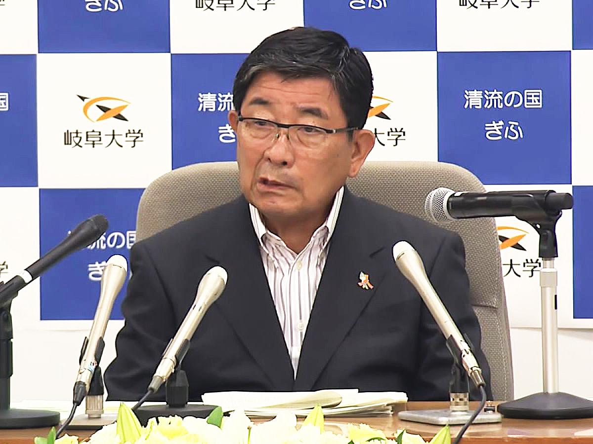 岐阜県内で新型コロナウイルスの感染が増加傾向にあることを受けて、岐阜県の古田肇知...