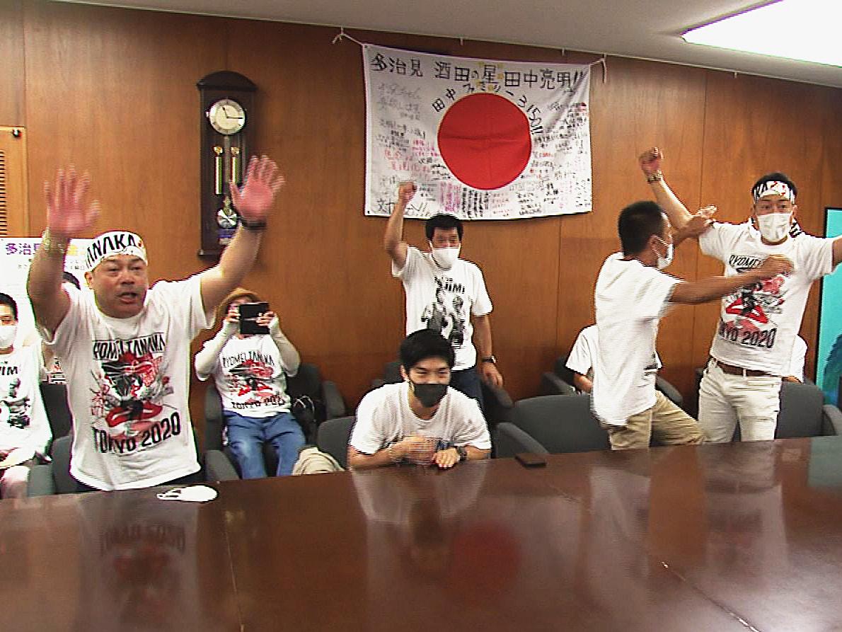 東京オリンピックのボクシング男子フライ級で3日、中京高校教諭の田中亮明が準決勝進...