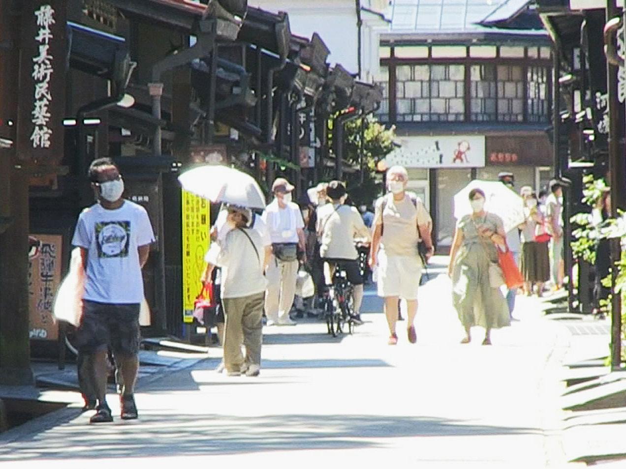 岐阜県内は4日も気温が上がり、各地で猛暑日となりました。 気象庁と環境省は熱中症...