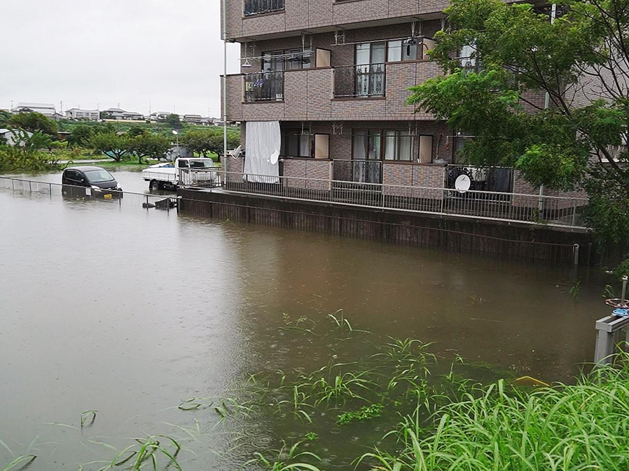 この大雨の影響で、岐阜県内ではこれまでにけが人は確認されていませんが、住宅の浸水...
