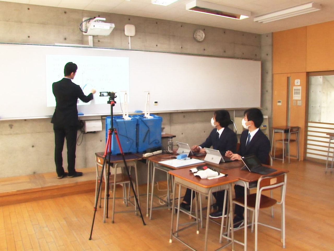 緊急事態宣言の期限を迎える9月13日以降の岐阜県内の高校の対応について、岐阜県教...