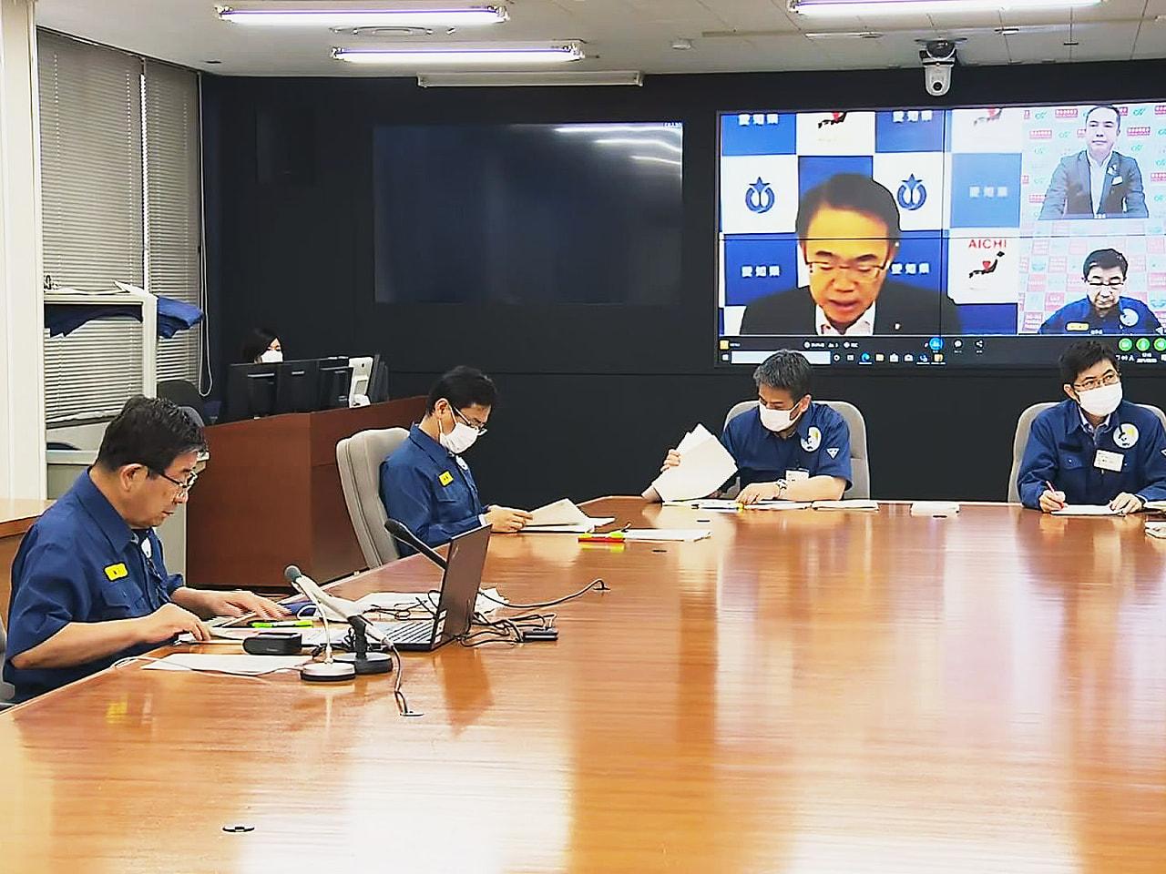 東海3県に緊急事態宣言が27日、追加適用されます。 3県の知事はテレビ会議を開き...