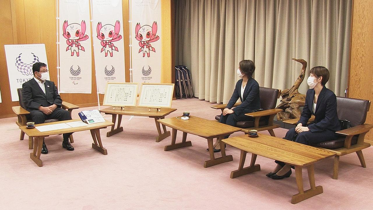 バドミントンの女子ダブルスで東京オリンピックに出場した、岐阜県を拠点に活動するフ...