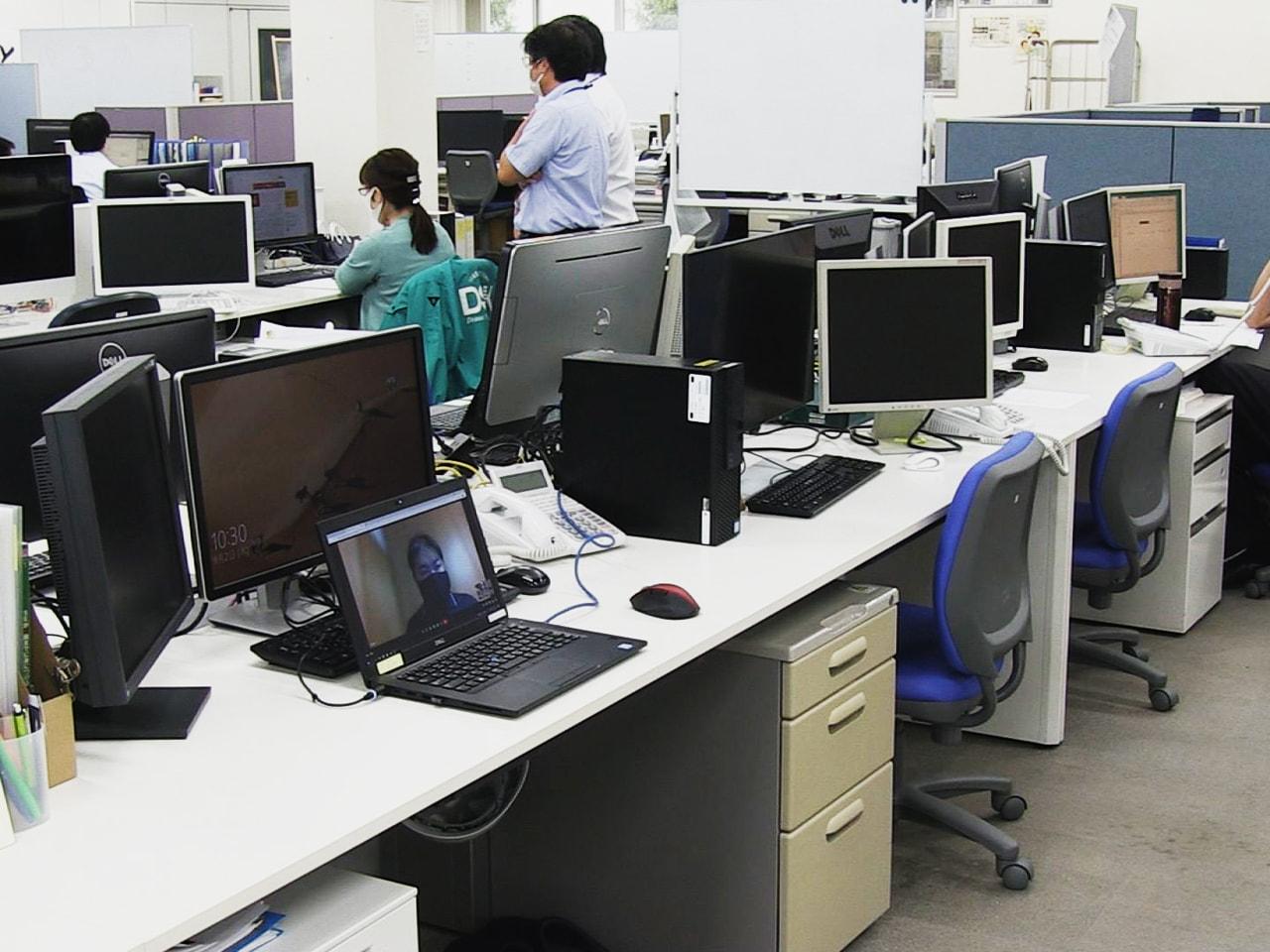岐阜県には3回目の緊急事態宣言が出され、企業に求められているのがテレワークの推進...