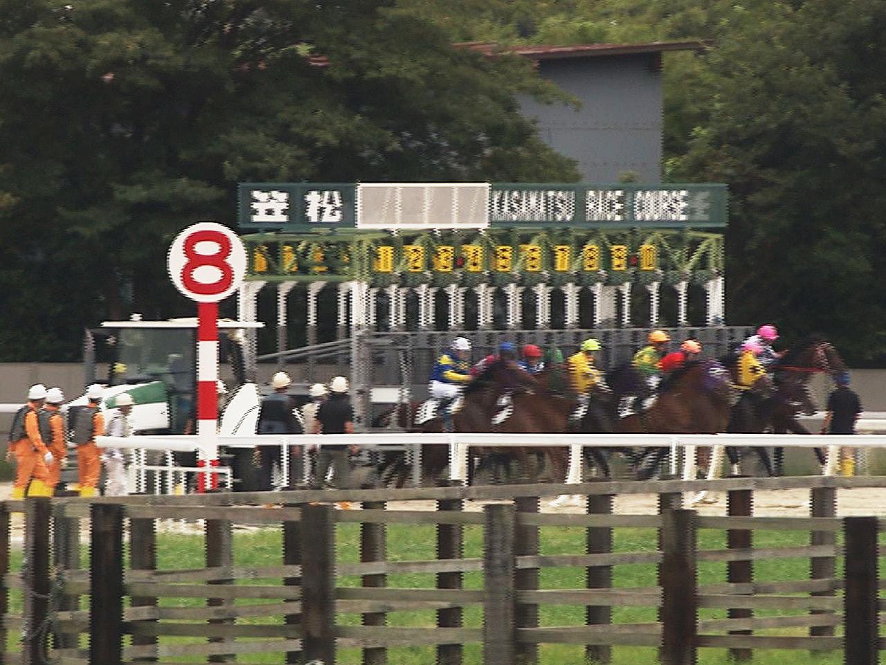 馬券の不正購入問題でレースの開催を自粛してきた笠松競馬で8日、約8カ月ぶりにレー...