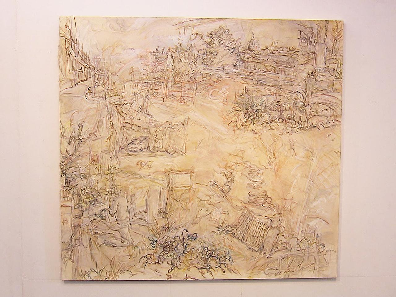 岐阜県揖斐郡池田町の極小美術館で、風景画と木彫りの作品を集めた展覧会が開かれてい...