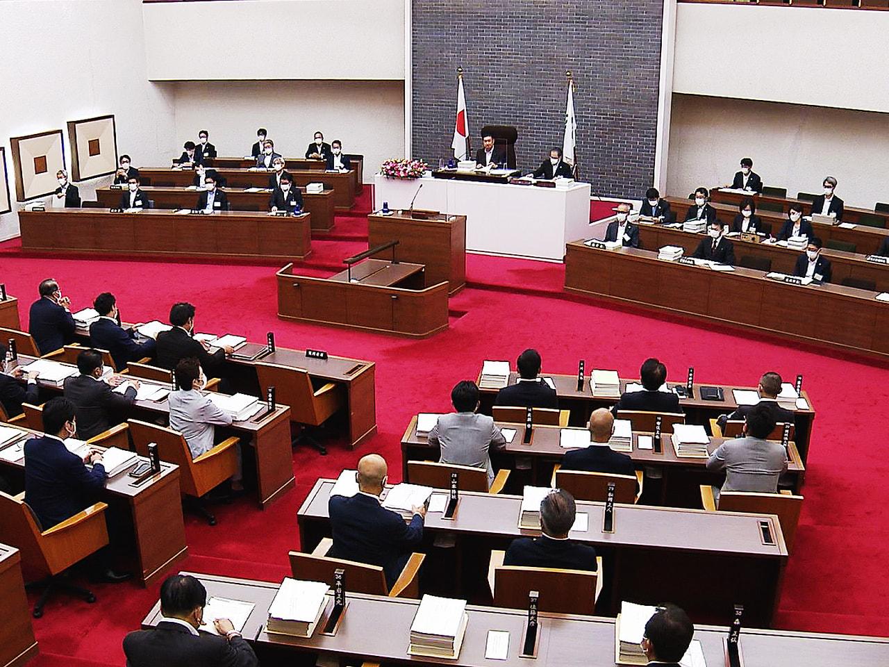 岐阜県議会の定例会が16日開会し、8月の大雨被害の災害復旧や、新型コロナウイルス...