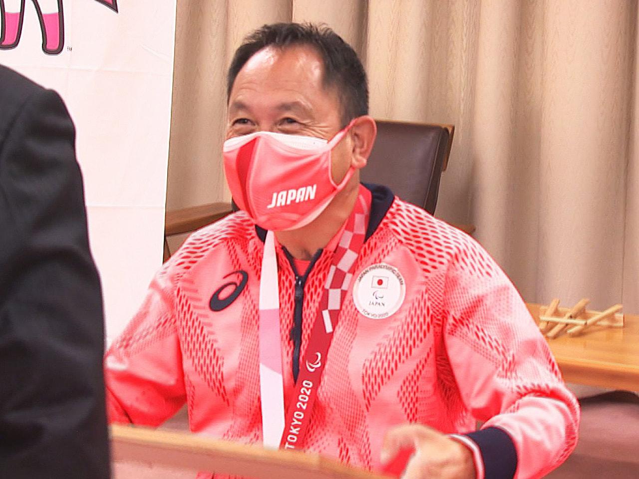 東京パラリンピックの車いすテニスで銅メダルを獲得した岐阜県各務原市出身の諸石光照...