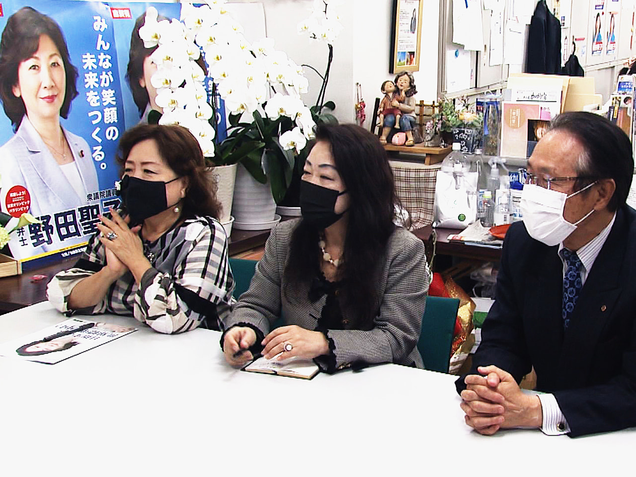 菅総理大臣の後継を決める自民党総裁選挙は17日告示され、河野太郎行政改革担当大臣...