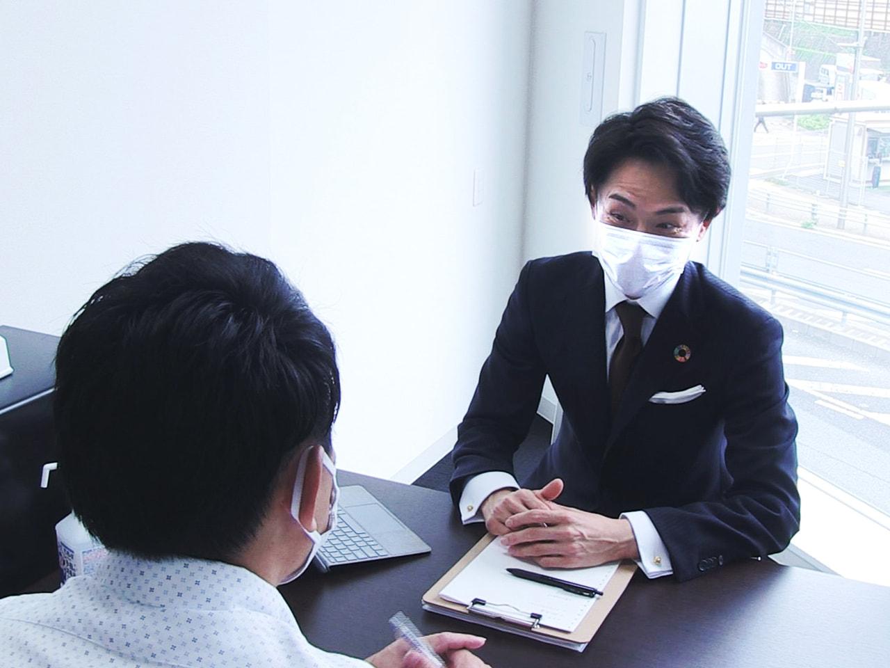 ことし7月に岐阜市が開設した起業や経営改善の相談に無料で応じる「スタートアップ相...