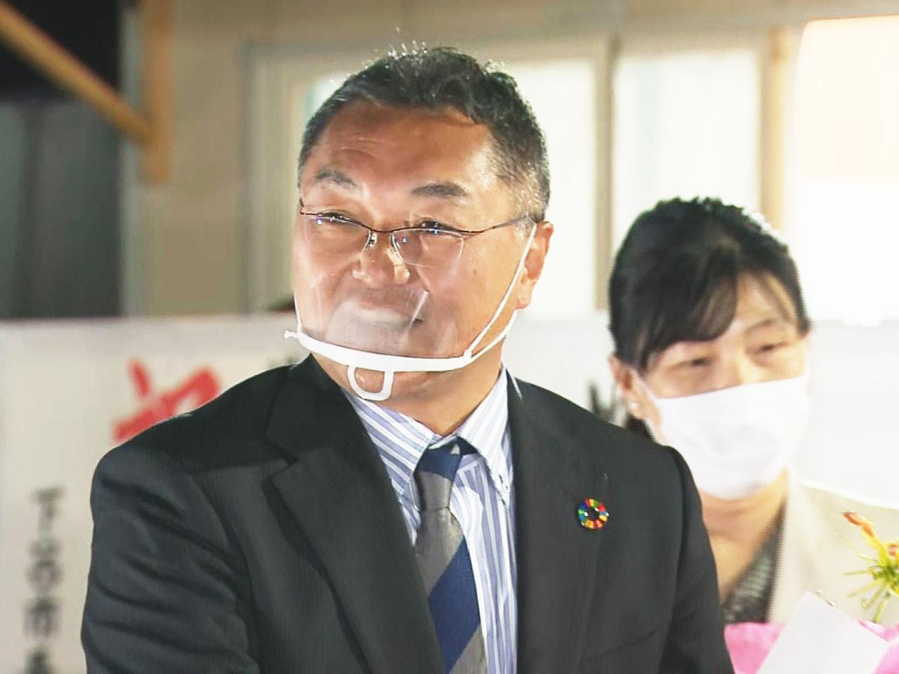 任期満了に伴う岐阜県海津市の市長選挙は18日投開票され、元県職員で無所属の横川真...