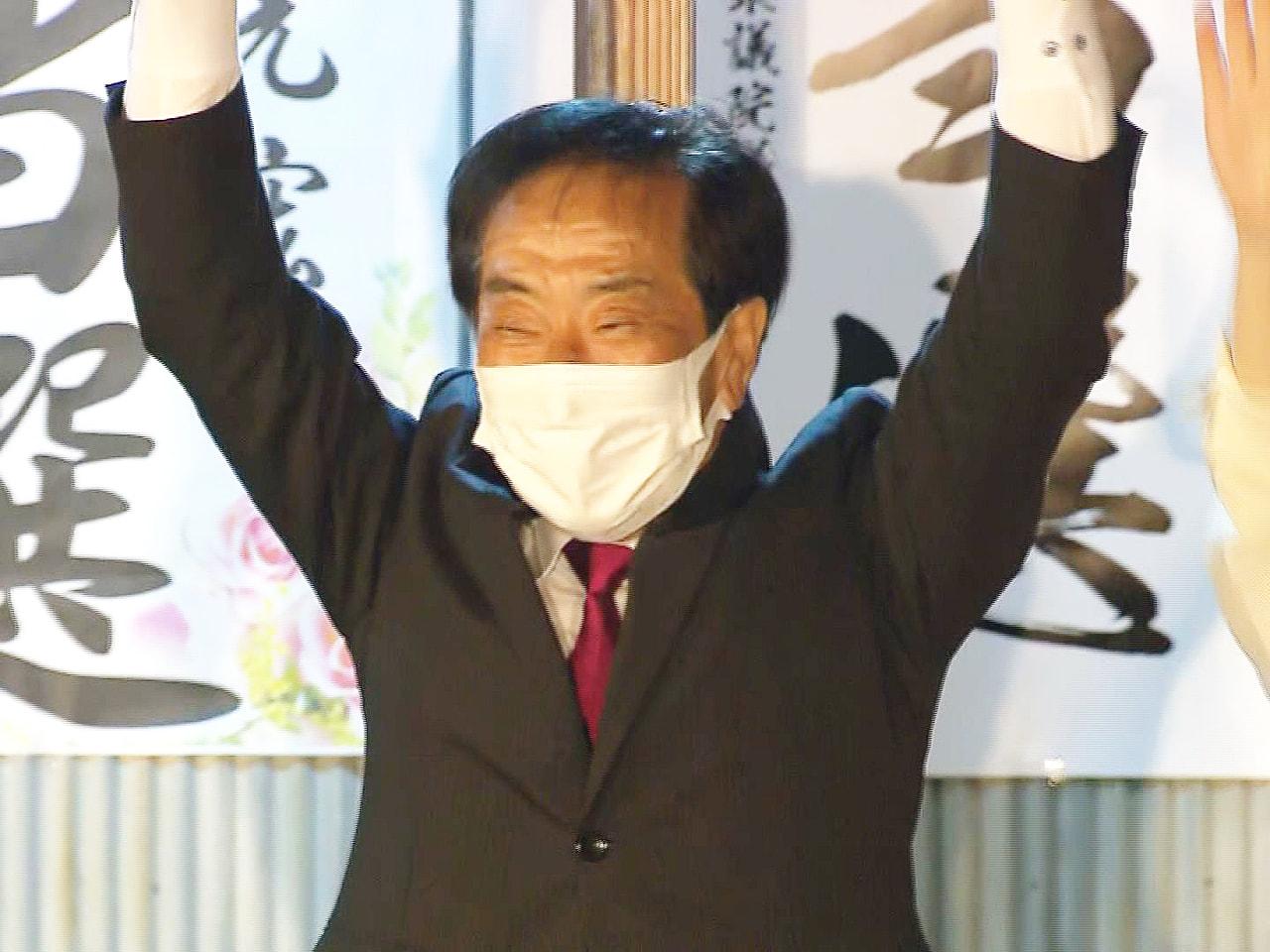 任期満了に伴う岐阜県加茂郡川辺町の町長選挙は25日、投開票され、現職の佐藤光宏さ...