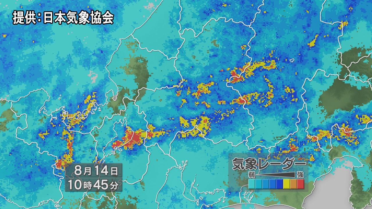 岐阜県では大雨が降り続いています。 降り始めからの総降水量が、平年の8月1か月の...