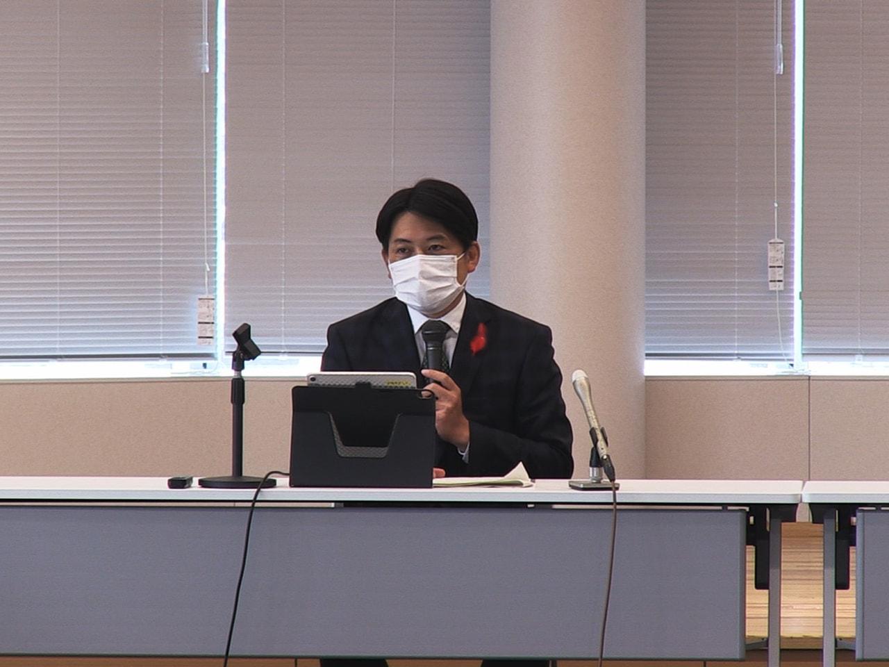 岐阜市の柴橋正直市長は2022年度の予算編成について、コロナ対策を最優先に選ばれ...